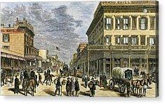 Sacramento In 1878 Acrylic Print