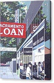Sacramento Loan Acrylic Print by Paul Guyer