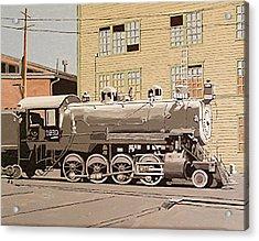 Sacramento Locomotive Works Acrylic Print by Paul Guyer