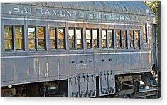 Sacramento Southern S P 2170 Acrylic Print by Bill Owen