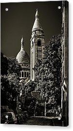 Sacre-coeur Basilica In Paris, France Acrylic Print