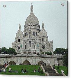Sacre Coeur Basilica Acrylic Print