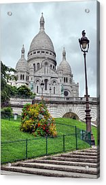 Sacre Coeur Cathedral Acrylic Print by Ioan Panaite