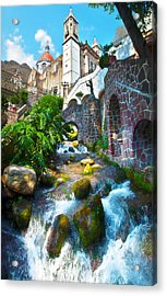 Acrylic Print featuring the photograph Sacred Chalma by John  Bartosik