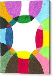 Sacred Circle Of Light Acrylic Print