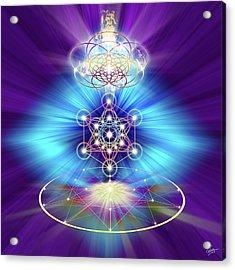 Sacred Geometry 30 Acrylic Print