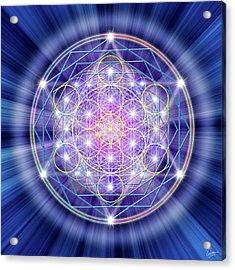 Sacred Geometry 46 Acrylic Print