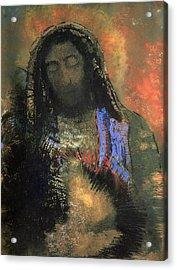 Sacred Heart Acrylic Print by Odilon Redon