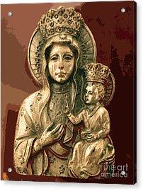 Sacred Icon Acrylic Print
