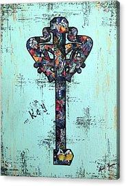 Sacred Key Acrylic Print