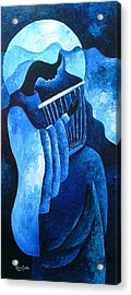 Sacred Melody Acrylic Print by Patricia Brintle