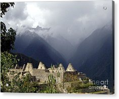 Sacred Mountain Echos Acrylic Print