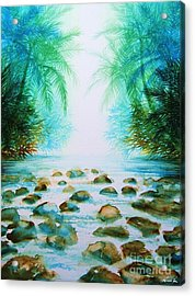 Sacred Pools Acrylic Print