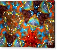 Sacred Rays Acrylic Print