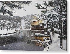 Sacred Snow Acrylic Print