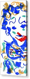 Sad Clowns II Acrylic Print