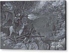 Saddle Sniper Acrylic Print
