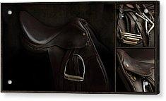 Saddle Triptych Acrylic Print