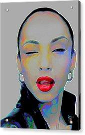 Sade 3 Acrylic Print