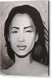 Sade Acrylic Print by Amber Stanford