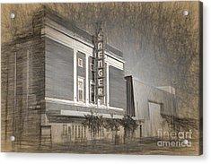 Saenger Theater Biloxi Acrylic Print by Joan McCool