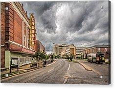 Saenger Theater Acrylic Print by Brian Wright