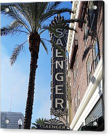 Saenger Theater New Orleans				 Acrylic Print by Ecinja Art Works
