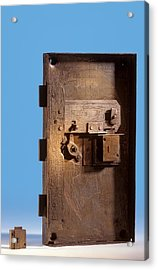 Safe Door From The Titanic Acrylic Print by Science Photo Library