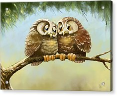Safe With You Acrylic Print