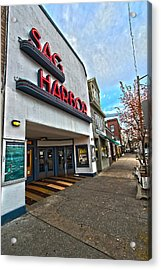 Sag Harbor Theater Acrylic Print
