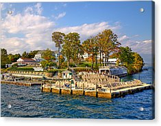 Sagamore Hotel - Lake George Acrylic Print by David Patterson