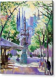 Sagarda Familia Barcelona Acrylic Print
