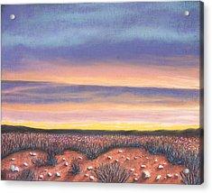 Sagebrush Sunset A Acrylic Print