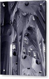 Sagrada Familia Vault Acrylic Print