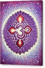 Sahasrara Crown Chakra  Acrylic Print by Andrew Zeutzius