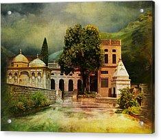 Saidpur Village Acrylic Print by Catf