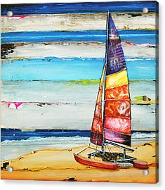 Sail Away Acrylic Print by Danny Phillips