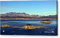 Sail Away Acrylic Print by Tammy Espino