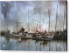 Sail Away With Me Acrylic Print by Kathy Jennings