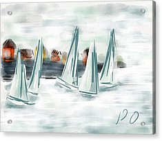 Sail Away With Me Acrylic Print