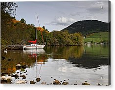 Sail Boat On Loch Ness Acrylic Print
