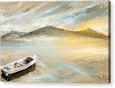 Sail Into The Sun Acrylic Print by Lourry Legarde