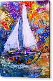 Sail On Acrylic Print