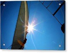 Sail Shine By Jan Marvin Studios Acrylic Print