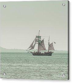 Sail Ship 2 Acrylic Print by Lucid Mood