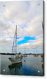 Sail With Me Acrylic Print