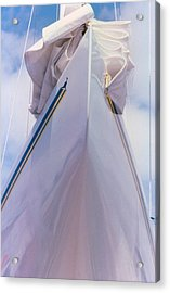 Sailboat Bow Acrylic Print