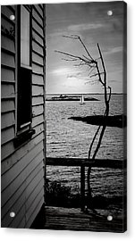 Sailboat Off Star Isle Acrylic Print