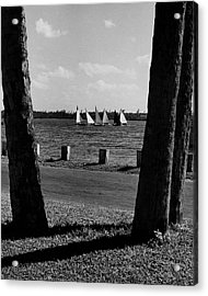 Sailboats At Jupiter Island Acrylic Print