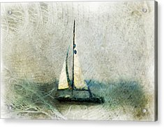 Sailin' With Sally Starr Acrylic Print by Trish Tritz